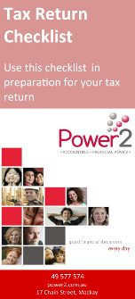 Power2 Tax Return Checklist