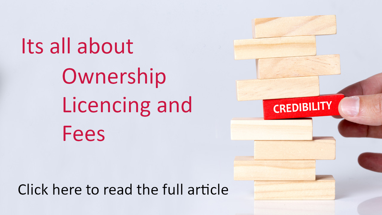 Ownership, Licencing and Fees